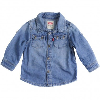 Levi's Camicia jeans per bambino sawtoo by Levi's Kids nn1201446levis19