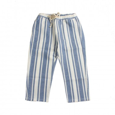Babe&Tess Boys linen striped trousers - Babe&Tess sn01onemore19
