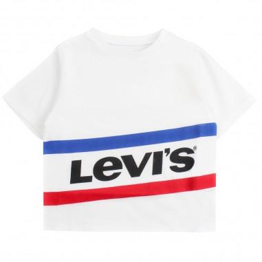Levi's T-shirt scritta levi's per bambina mirwais by Levi's Kids nn1059711levis19