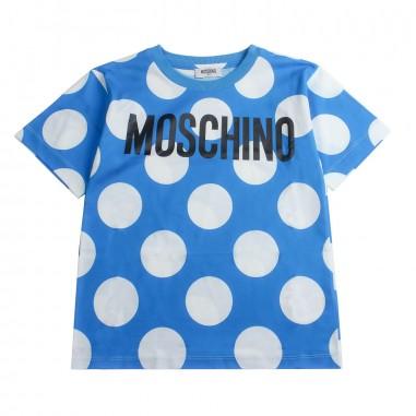 Moschino Kids T-shirt bolle moschino bambino by Moschino Kids HUM02D-84221-LAB12