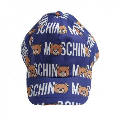 Moschino Kids Moschino teddy cap by Moschino Kids HWX00W-84006-LMB01