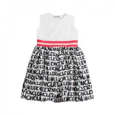 best cheap bcdad a1dce Abito jersey scritte moncler bambina - Moncler Kids