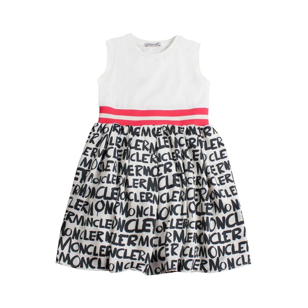 fcacd1d1a399 Abito jersey scritte moncler bambina - Moncler Kids - Ivana Vesprini