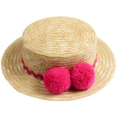 Piccola Ludo Cappello paglia naturale bambina by Piccola Ludo bf4wa036c000001pa11picc19