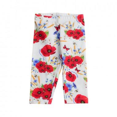 Monnalisa Girl jersey floral leggings by Monnalisa 31341819-19-9944monna19