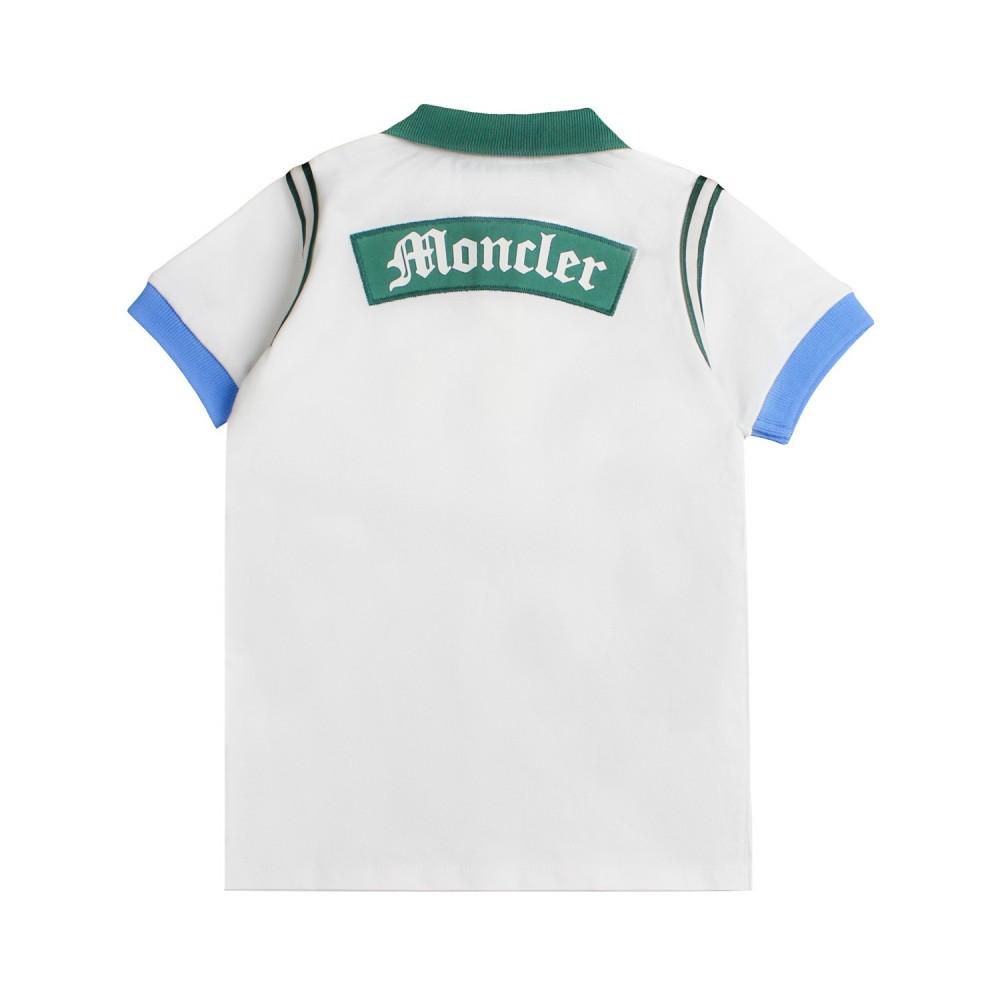 d58d70a7e Boys cream moncler polo shirt Kids - Ivana Vesprini