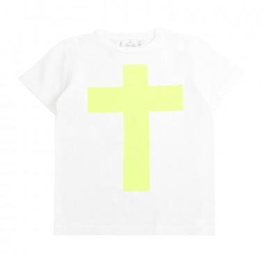 Berna Kids Boy off white cotton t-shirt 9077tsw02berna19
