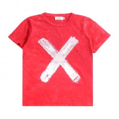 Berna Kids Boys red cotton t-shirt 9075tsr04berna19