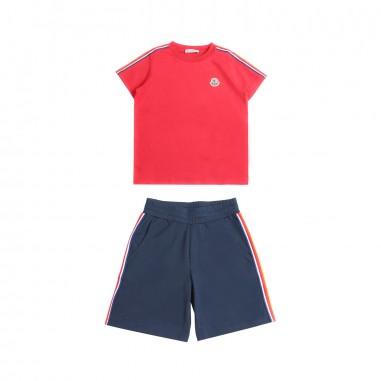 Moncler Set t-shirt & bermuda jersey bambino - Moncler Kids 881300583907455mo19