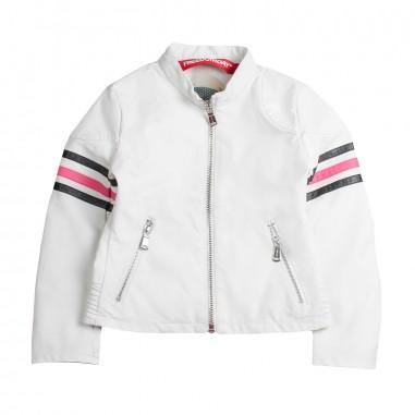Freedomday Girls white eco-leather jacket by Freedomday Kids juliannewhitefree19freedom19