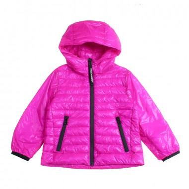 Freedomday Girls fuchsia nylon quilted jacket by Freedomday Kids kimfucsiafree19freedom19
