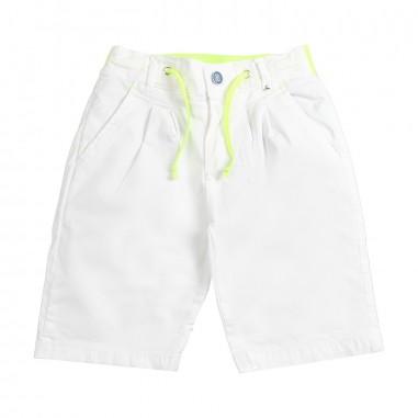 d27a58f3ef54 Berna Kids - Boy white cotton bermuda shorts - Ivana Vesprini