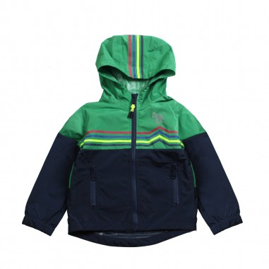 Paul Smith Junior Boys 2-tone hooded jacket by Paul Smith Junior 5n41532492psmith19