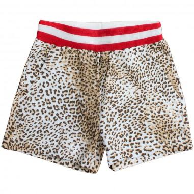 Monnalisa Shorts felpa leopardati bambina by Monnalisa 19341119-19-0080monna19