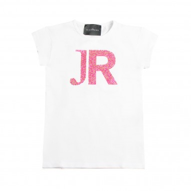 Richmond Girl white 'JR' t-shirt by John Richmond Junior rgp19161ts19rich19