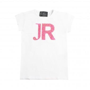 Richmond T-shirt JR bianca bambina by John Richmond Kids rgp19161ts19rich19