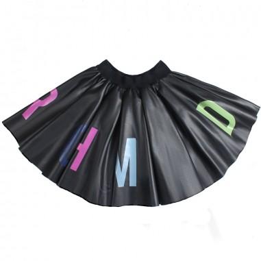 Richmond Girl black ecoleather skirt by John Richmond Junior rgp19140go19rich19