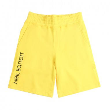 Neil Barrett Kids Bermuda felpa giallo bambino by Neil Barrett Kids 018762020neil19