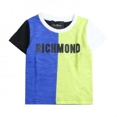 Richmond Boys cotton t-shirt by John Richmond Junior rbp19152ts19rich19