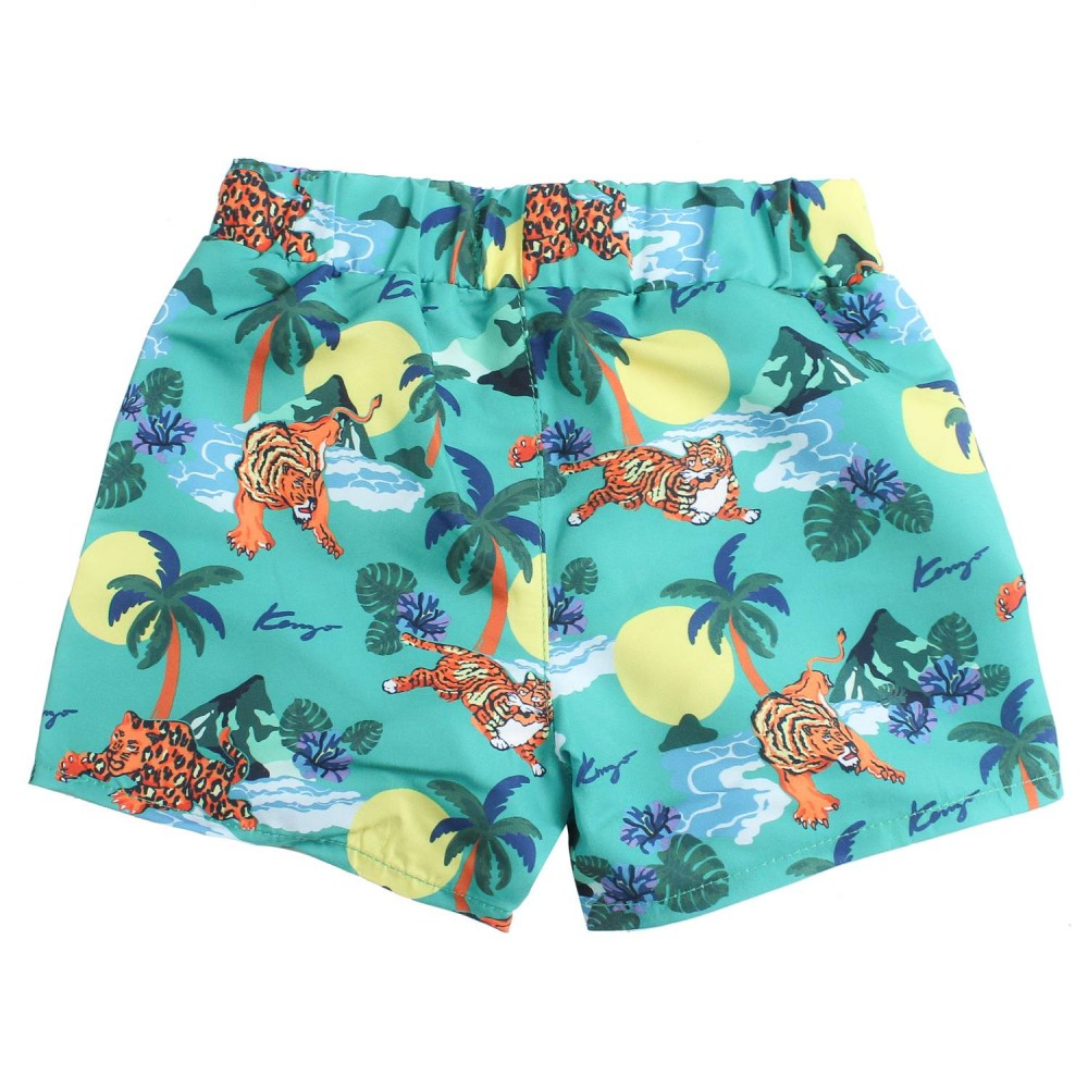 96616e1304e5b Boys hawaii print swim trunks by Kenzo Kids - Ivana Vesprini