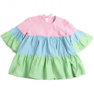 Piccola Ludo Girls multicoloured dress by Piccola Ludo bf4wb038tes0295rcv213picc19