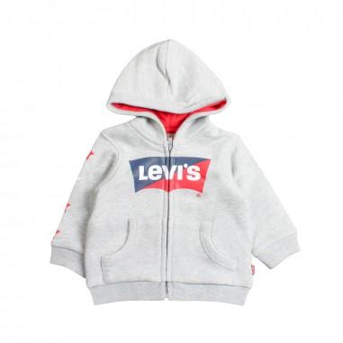 Levi's Felpa aperta con cappuccio per bambino bat by Levi's Kids nn1700422levis19