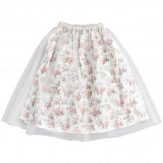 671bc5676b Babe&Tess Girl floral tulle midi skirt - Babe&Tess tf01onemore19