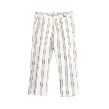 Myths Boys cotton striped trousers 01l76my19