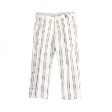 Myths Pantalone cotone rigato bambino 01l76my19