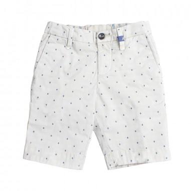 Myths Boys beige stretch bermuda shorts 51b370my19