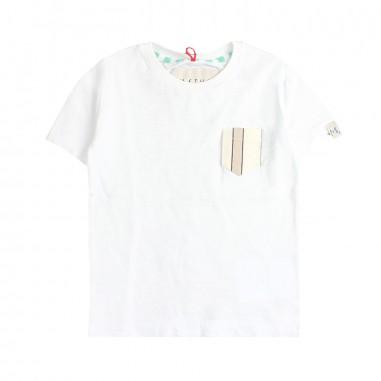 Myths T-shirt bianca taschino bambino 35t89-76my19