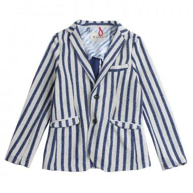 Myths Boys striped casual blazer 21g933my19