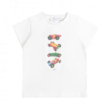 Kid's Company White jersey baby t-shirt by Kid's Company tskc91461kc19