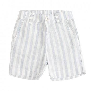 Kid's Company Cotton striped baby bermuda shorts by Kid's Company bmkc91440kc19