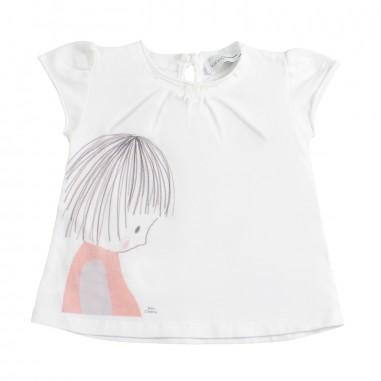 Kid's Company T-shirt con stampa neonata by Kid's Company tskc91264kc19