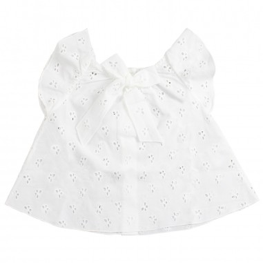 Kid's Company White broderie anglaise baby tunic top by Kid's Company cmkc91220kc19