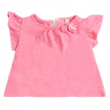 Petit Indi T-shirt neonata rosa jersey 3422petit19