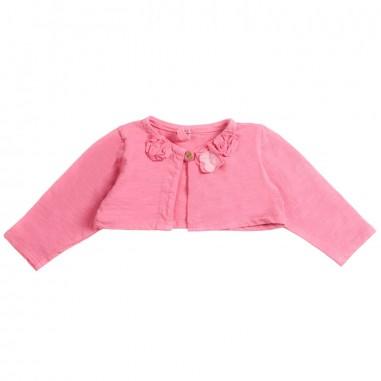 Petit Indi Baby girls pink cardigan 1122petit19