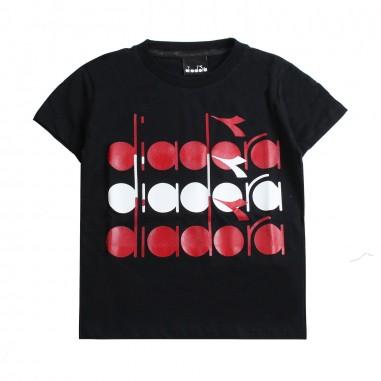 Diadora Boys diadora logo t-shirt by Diadora Kids 1925311019diadora19