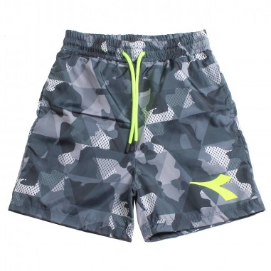 Diadora Boys nylon camouflage bermuda shorts by Diadora Kids 1931320019diadora19