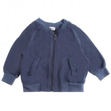 Kid's Company Cardigan felpa blu neonato by Kid's Company gikc91414kc19