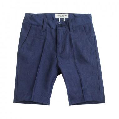 Paolo Pecora Boys blue cotton bermuda shorts pp1868paolo19
