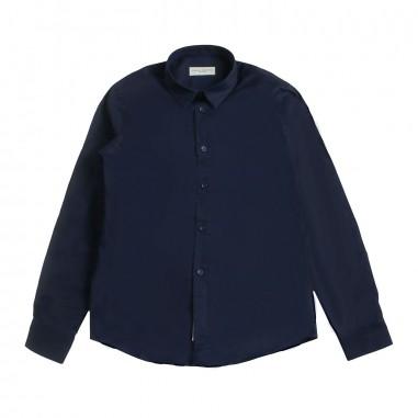 Paolo Pecora Boy blue cotton shirt pp1701-blupaolo19