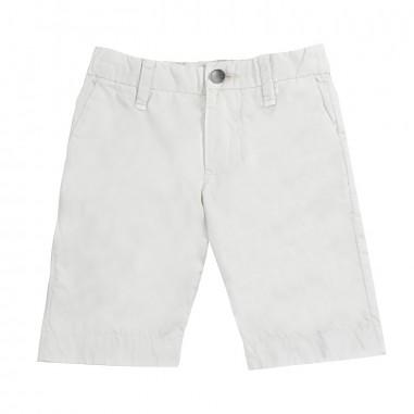 Myths Boys beige cotton bermuda shorts 51b02my19