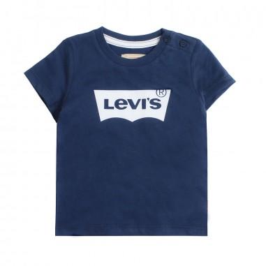 Levi's T-shirt blu logo levi's per bambini bat by Levi's Kids nn1012448levis19