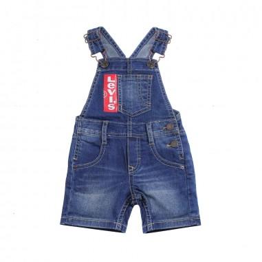 Levi's Blue denim baby dungaree by Levi's Kids nn2100446levis19