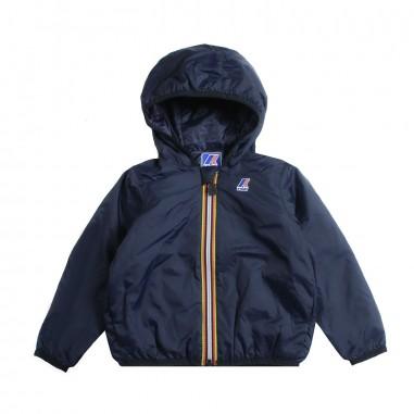 ad4358a06 Boys blue ripstop windbreaker jacket by K-way Kids