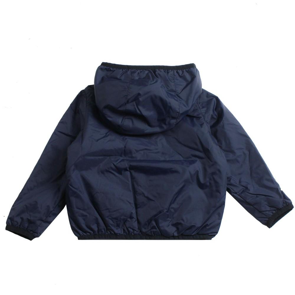 69cb4024862 Boys blue ripstop windbreaker jacket by K-way Kids