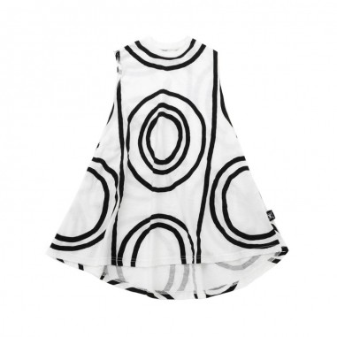 Nununu Girls white circles dress by Nununu nu2189nununu19