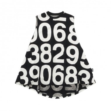 Nununu Girls black numbered 360 dress by Nununu nu2190nununu19